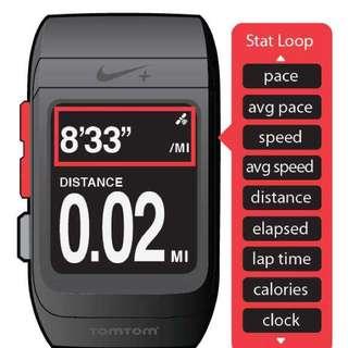 Nike + Running Gps Watch Used