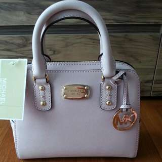 Brand New Michael Kors Pink Mini Tote With Sling
