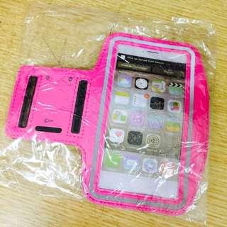 手機運動臂套 5.3吋手機以下適用 桃紅色