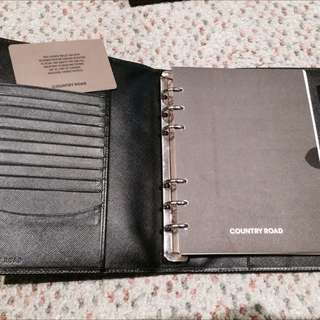 Country Road Refillable Notepad/diary