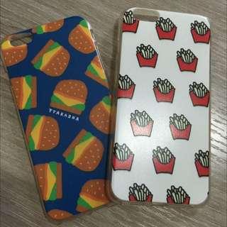 🔺ip6+漢堡薯條手機套🔺