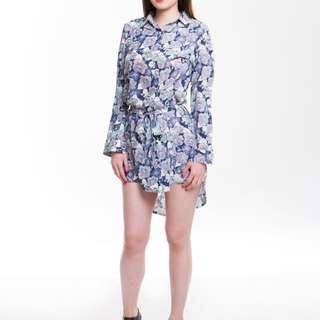 Floral Shirt Dress $10