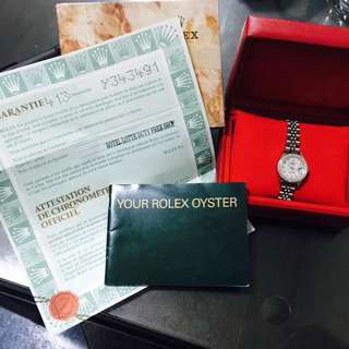 Rolex Ladies Watch Mother Of Pearl