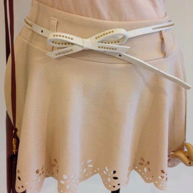 (2手) 素面褲裙