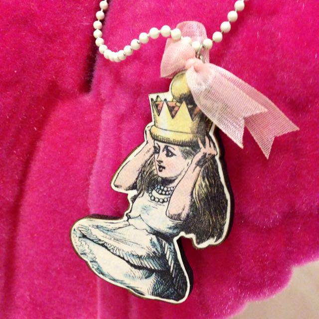 復古童話小公主項鍊