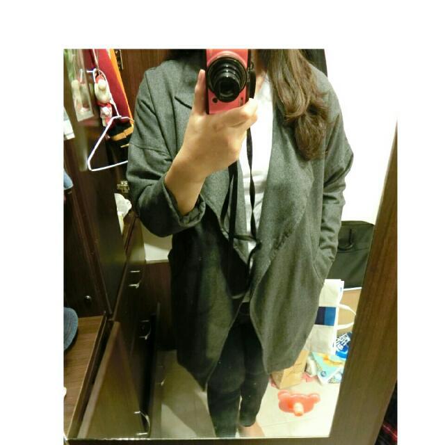 【全新】長版外套