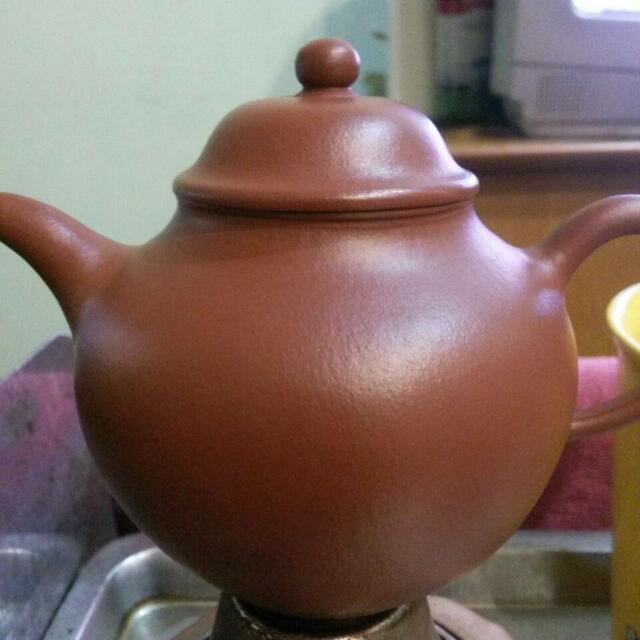 早期紅土茶壺(手工)