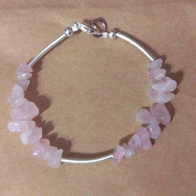 粉水晶手鏈