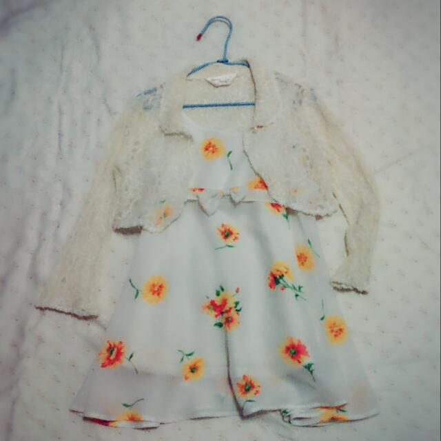 巧帛 專櫃童裝 送蕾絲外套