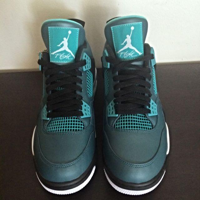 2e35b27ecf9a Air Jordan 4 Teal Size 9