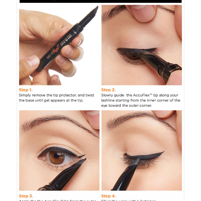 0d45750c3ab Benefit they're real! push-up eyeliner-lash-hugging gel liner pen (Black),  Health & Beauty on Carousell