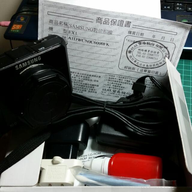 二手三星Ex1 自拍神器 送日本知育菓子一盒