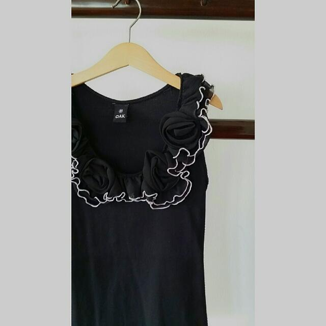 Indie Thai Designer OAK Black Top