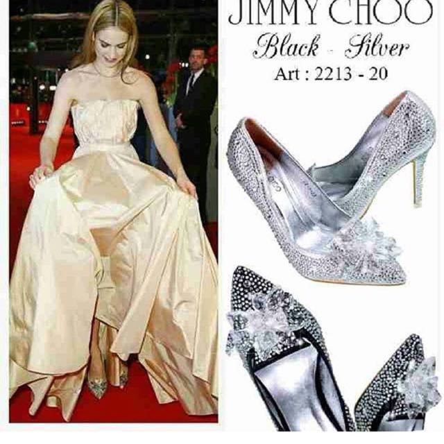Jimmy Choo silver n Black