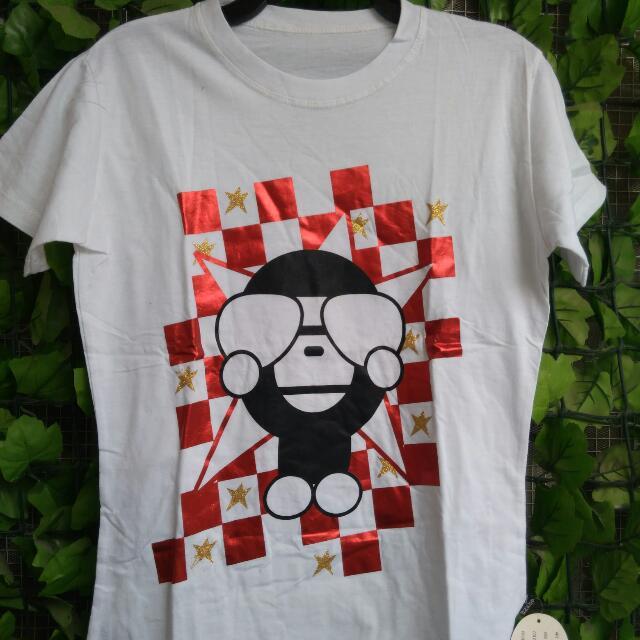 Monkey Tee White