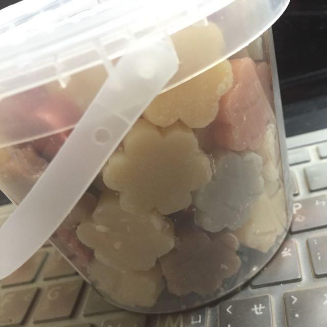 泰香soap-n-scent 梅花造型迷你皂