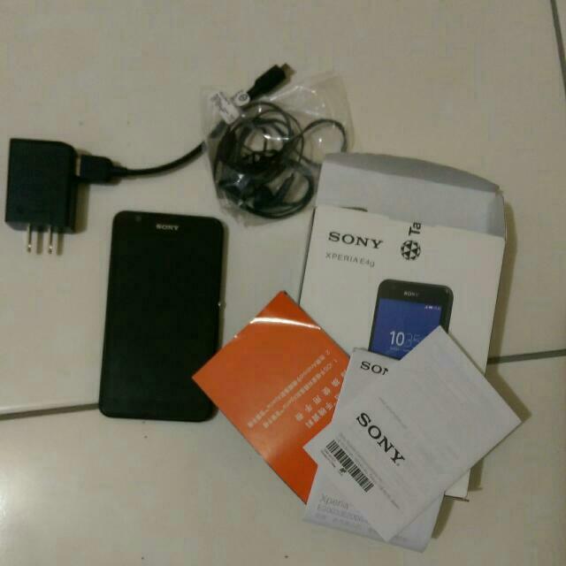 急售Sony E4g 黑色 4G手機