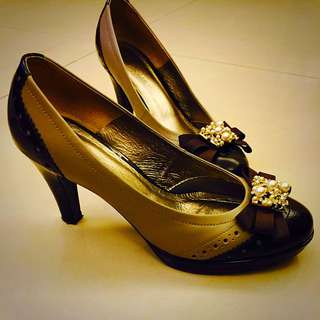 DeSire專櫃 高跟鞋 Size:24半(只穿兩次)