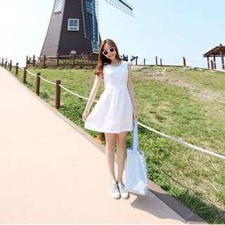 Summer Dress in White