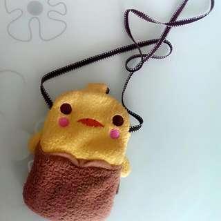 限時降價!手機 小袋♡可愛小黃chicken~