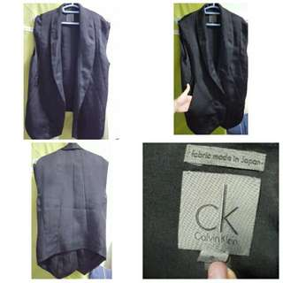 Black Calvin Klein Ladies Vest