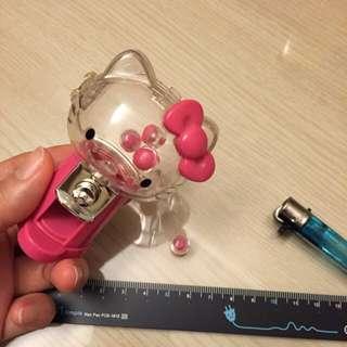 全新 Hello Kitty 迷你戀愛運扭蛋機 內有4顆迷你扭蛋 代售