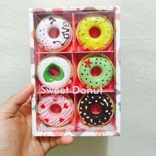 (含運)甜甜圈護唇膏(sweet Donut)