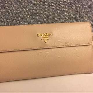 Preloved Prada Long Wallet