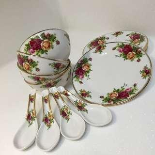 ROYAL ALBERT 骨瓷碗盤