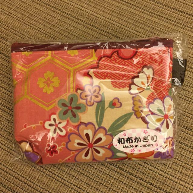 (全新)日本拉鍊化妝包🎌含運(郵寄)