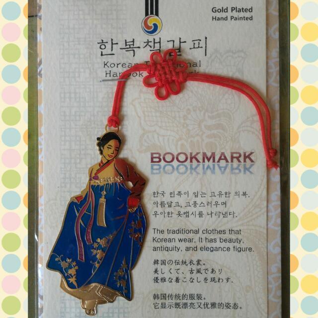 書籤--韓國傳統服飾