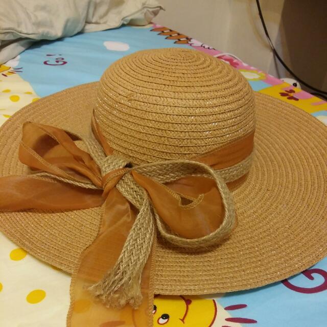 淑女風草帽