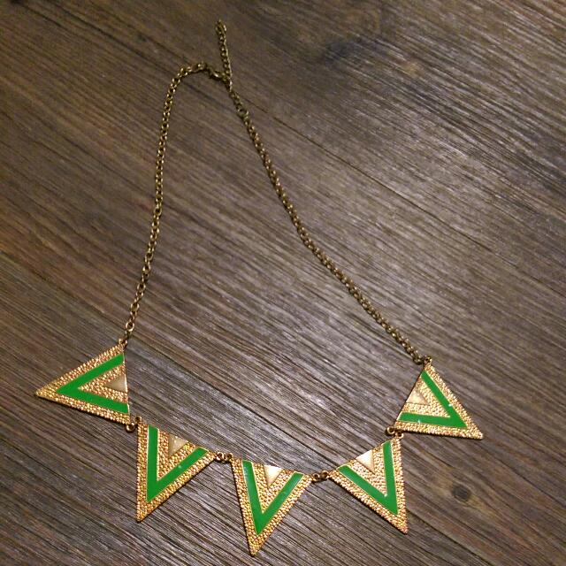 幾何圖形項鍊