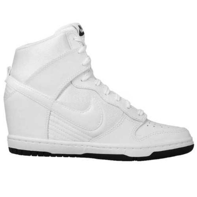 全新 Nike Wmns Dunk Sky Hi 白色 增高鞋