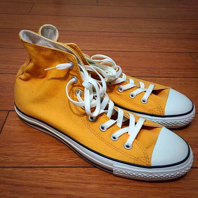 a9efdb0e9173 Converse Chuck Taylor s Hi-Tops - Mustard Yellow