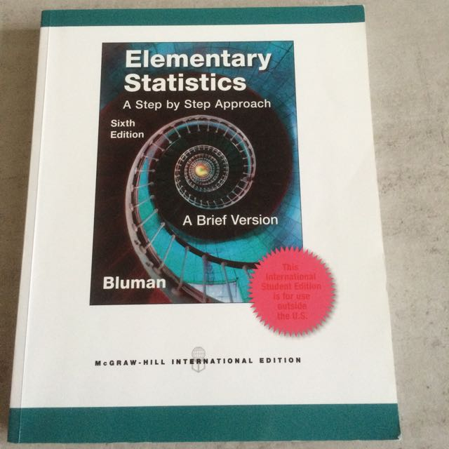 Elementary Statistics A Step By Step Approach Books Stationery