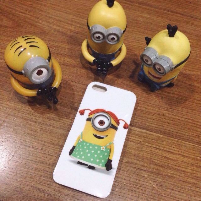 Minion Girl Iphone 5/5s case