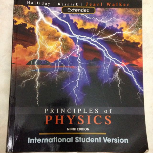 大學物理原文書/PRINCIPLES OF PHYSICS EXTENDED