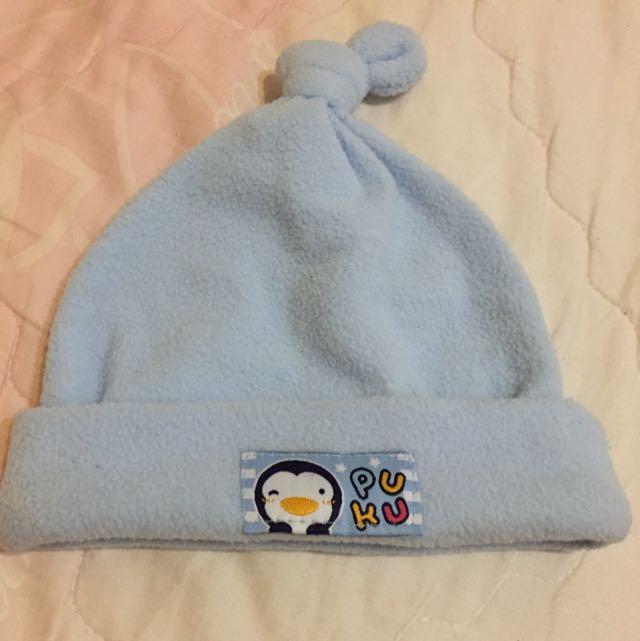 PUKU藍色帽子