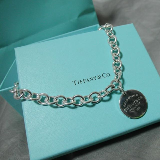 Tiffany Co. 經典圓牌項鍊
