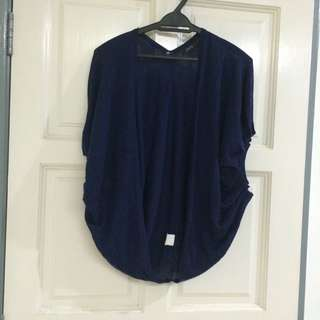 Bubble Sleeve Cardigan