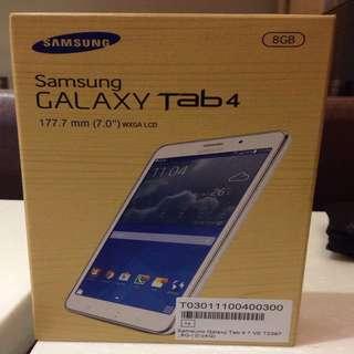 Samsung galaxy tab 4 8g保留中