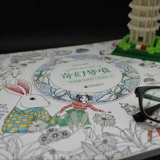 Alice In The Wonderland Colouring Book