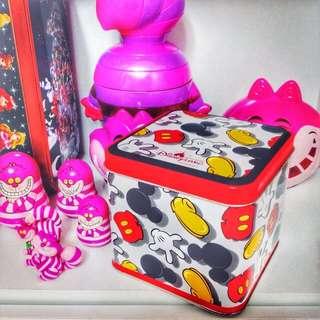 香港迪士尼樂園💫米奇鐵盒💞
