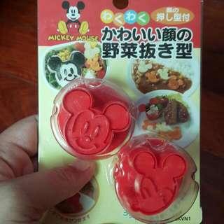 米奇米妮 迪士尼 飯糰,青菜模型