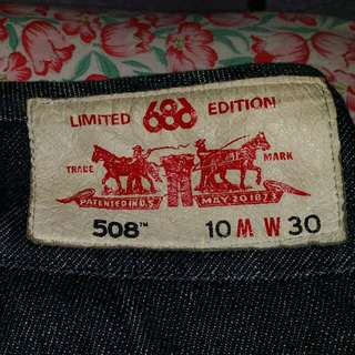 Levis Limited Edtion 508 X 686
