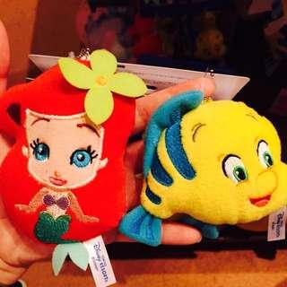 現貨 愛麗兒 小比目魚 吊飾 日本迪士尼帶回