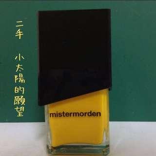"""九成新,""""2006""""mistermorden指甲油"""