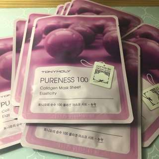 Premium Korean Collagen Face Mask Sheet