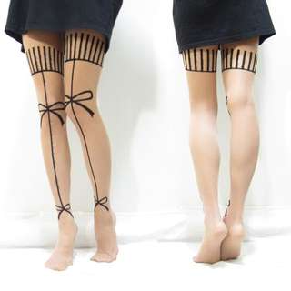 🎀甜心刺青絲襪